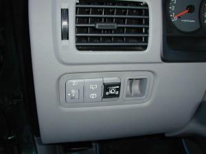 Autogas Umrüstung - die günstige Alternative - Umschalter im Innenraum