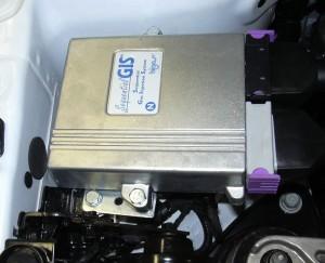 Autogas Umrüstung - Steuerteil im Motorraum